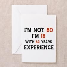 80 year old designs greeting card 80 birthday birthdays and cards 80 year old designs greeting card bookmarktalkfo Choice Image