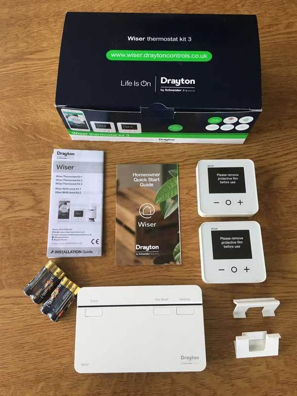 Drayton Wiser Smart Heating Controls Review Part 1 Step By Step