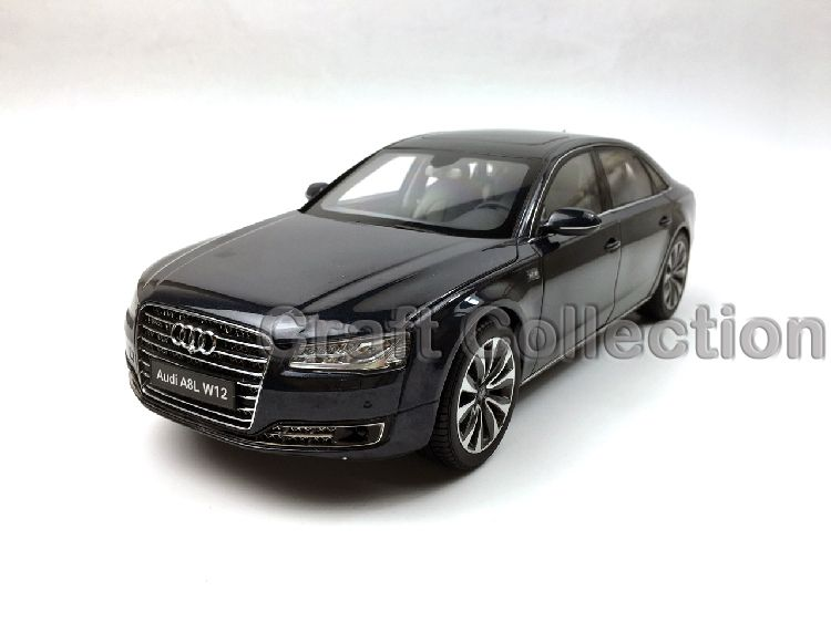 Perfect Blue 1:18 Diecast Car Model For Audi A8 A8L W12 2014 #Affiliate Amazing Design
