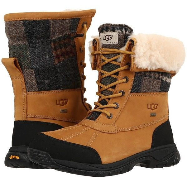 985f421117f UGG Butte Patchwork (Wheat) Men's Boots ($275) ❤ liked on Polyvore ...