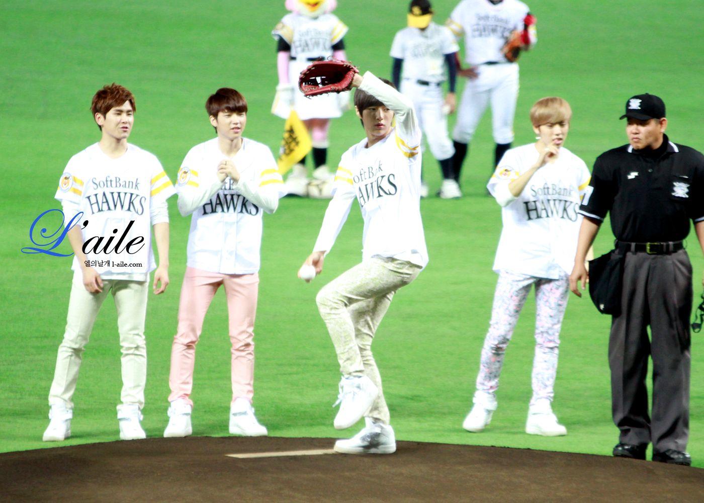 130416 │ 130414 후쿠오카 Hawks K-POP day in FUKUOKA 하루가 참 길었던 이상한 날이었어 ;ㅅ;