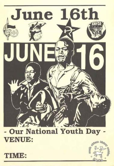 Our National Youth Day June 16 marks the anniversary of ...