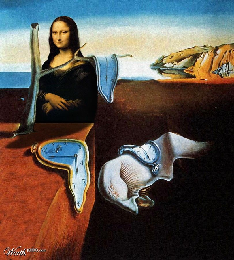 Dali's Mona Lisa - Worth1000 Contests | La joconde, Histoire de l'art, Tableau dali