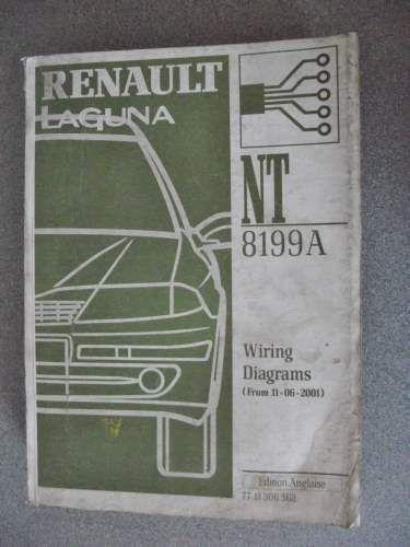 Renault Laguna Wiring Diagrams Manual 2001 7711306562