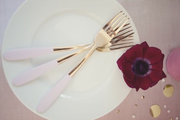 Knot & Pop: Neon & Ombre Wedding Inspiration Shoot - Bridal Musings Wedding Blog