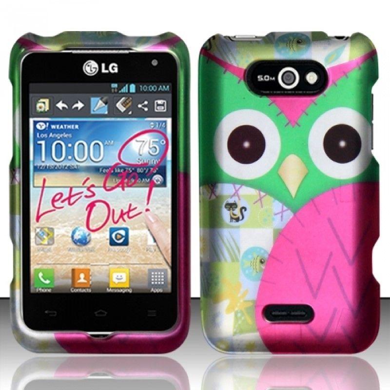 Insten Design Dust Proof Rubberized Hard Plastic Phone Case Cover for LG Motion 4G/ Optimus Regard