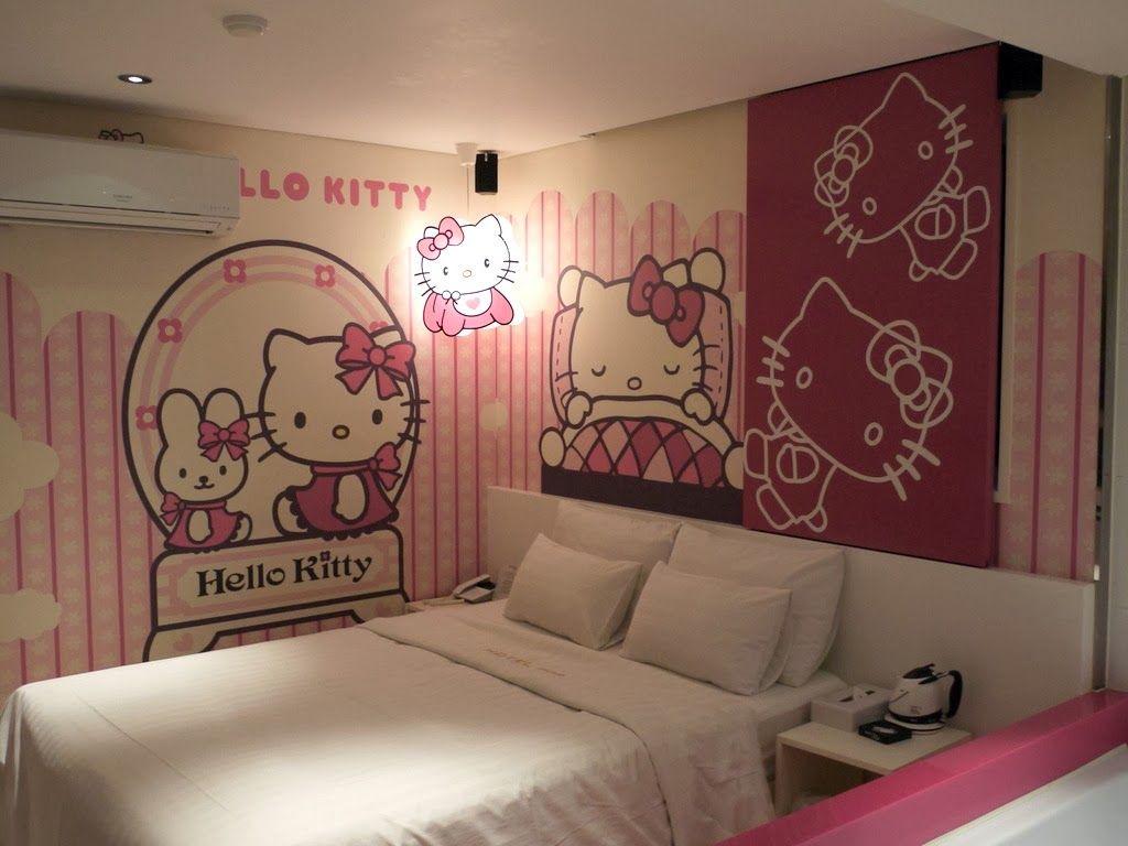 20 Desain R Tidur Bernuansa Hello Kitty Berbagi Sejuta Info