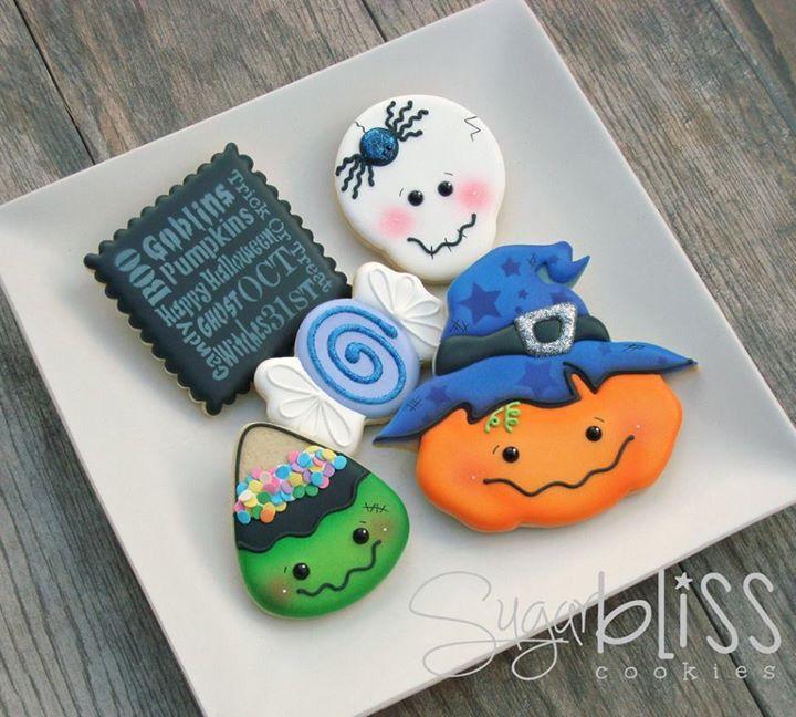 Halloween Cookies! Cookies! - Hallowen Pinterest Cookie - halloween pumpkin cookies decorating