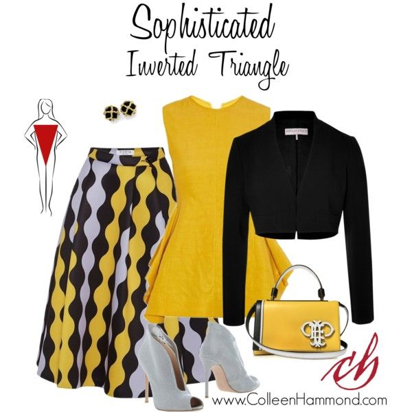 Sophisticated Inverted Triangle 2 by colleen-hammond on Polyvore featuring polyvore, fashion, style, Marni, Emilio Pucci, VIVETTA and Gianvito Rossi
