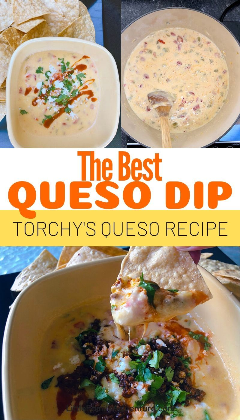 Transform Plain Rotel Dip Into Something More - Torchy's Queso Dip