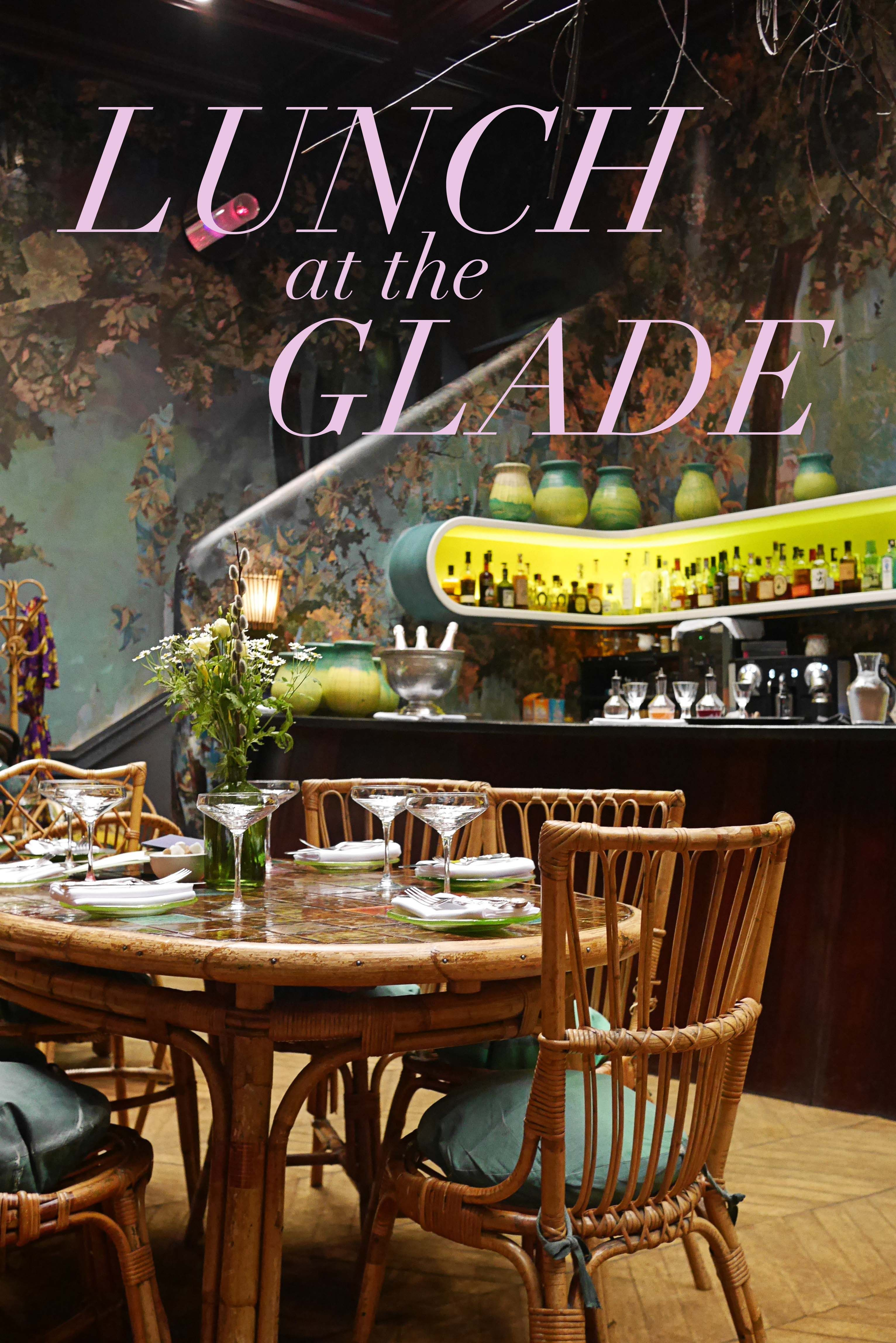 Food Coma Sketch London Restaurant Lunch Glade