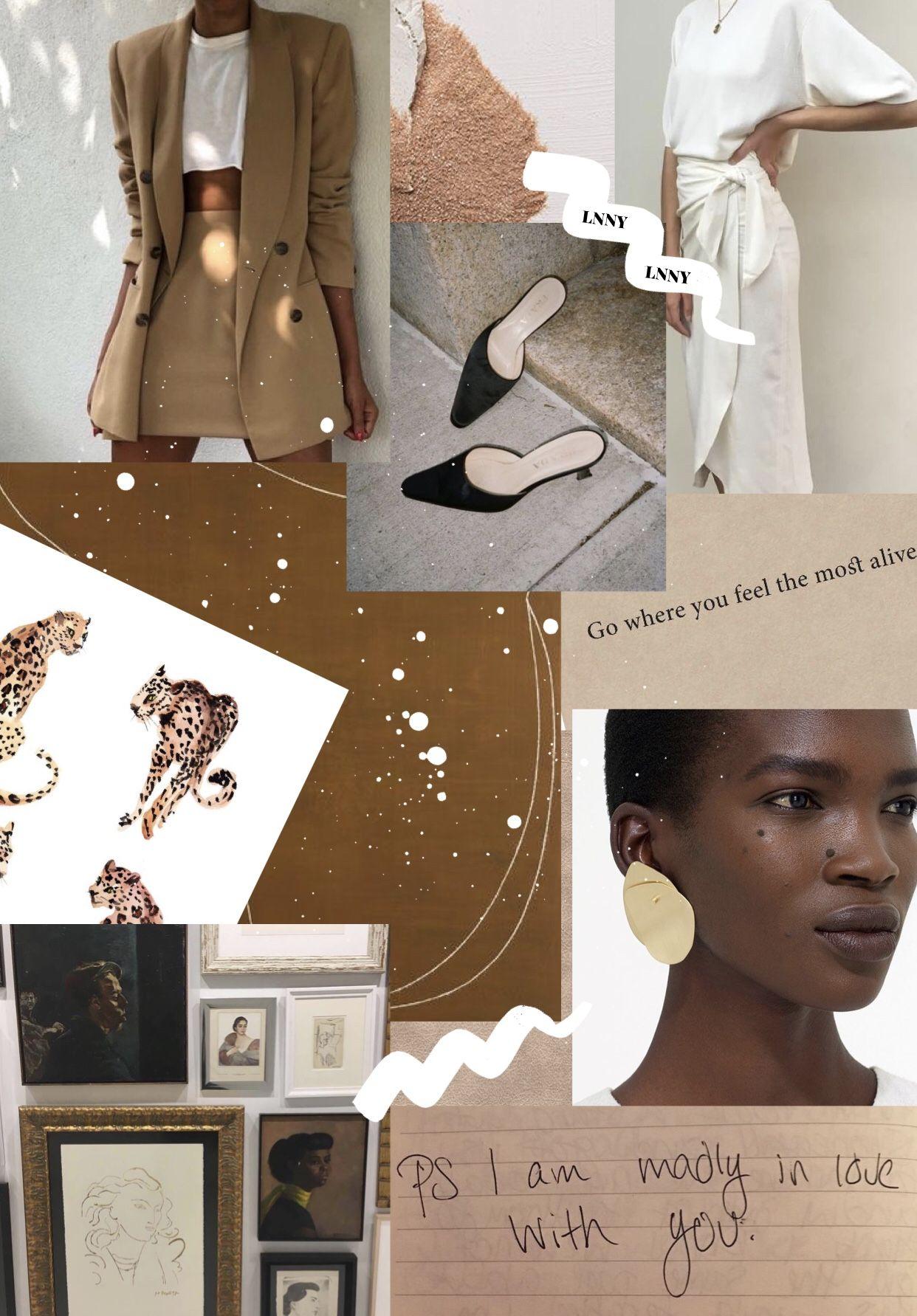 LNNYblog.com #fashion #collage #moodboard #summerstyle # ...