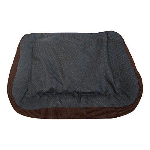 Simmons Beautyrest Colossal Rest Orthopedic Memory Foam Dog Bed, Medium - Corduroy Chocolate