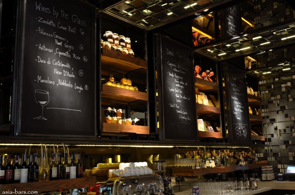 jojo - lifestyle italian restaurant bar at the st regis bangkok