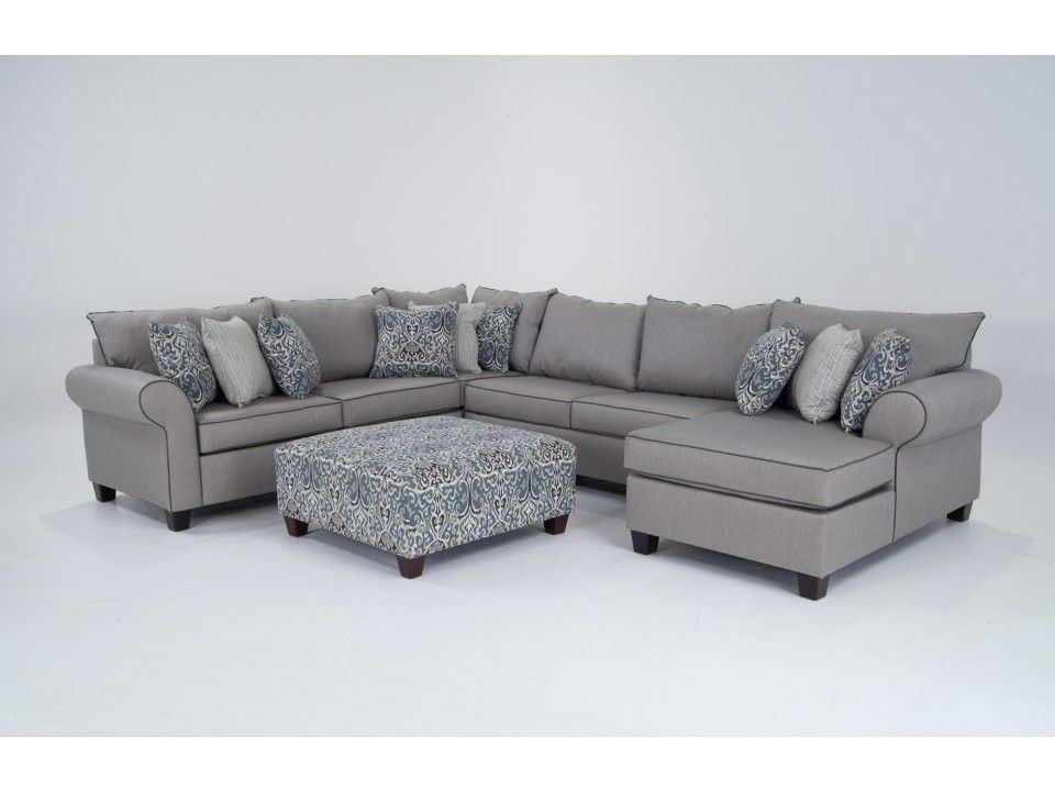 Ashton 5 Piece Left Arm Facing Sectional Sectionals Living Room Bob S Discount Furniture Sectional Discount Outdoor Furniture Cottage Furniture