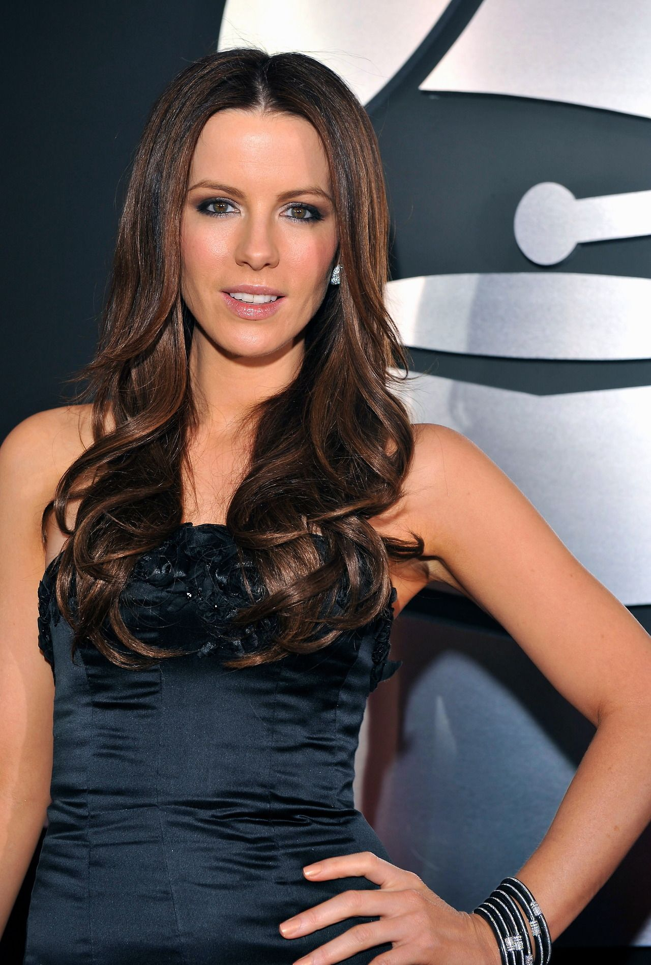 Kate Beckinsale Without Hair Extensions Remy Clips clip-in Hai...