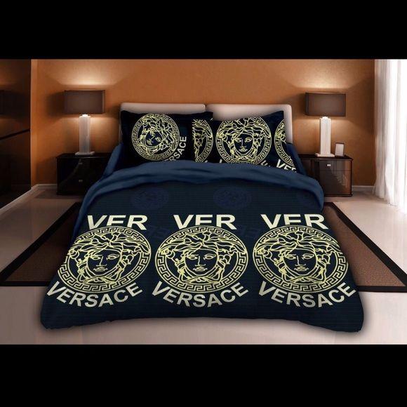 Versace Custom Bedding Set China Supplier Bedding Set Bed Sheets