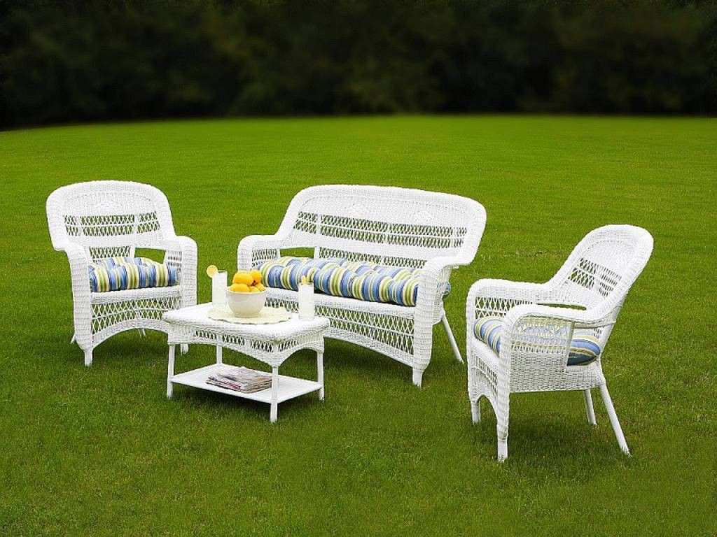 White Resin Wicker Outdoor Furniture Resin Patio Furniture White Wicker Patio Furniture Outdoor Wicker Furniture