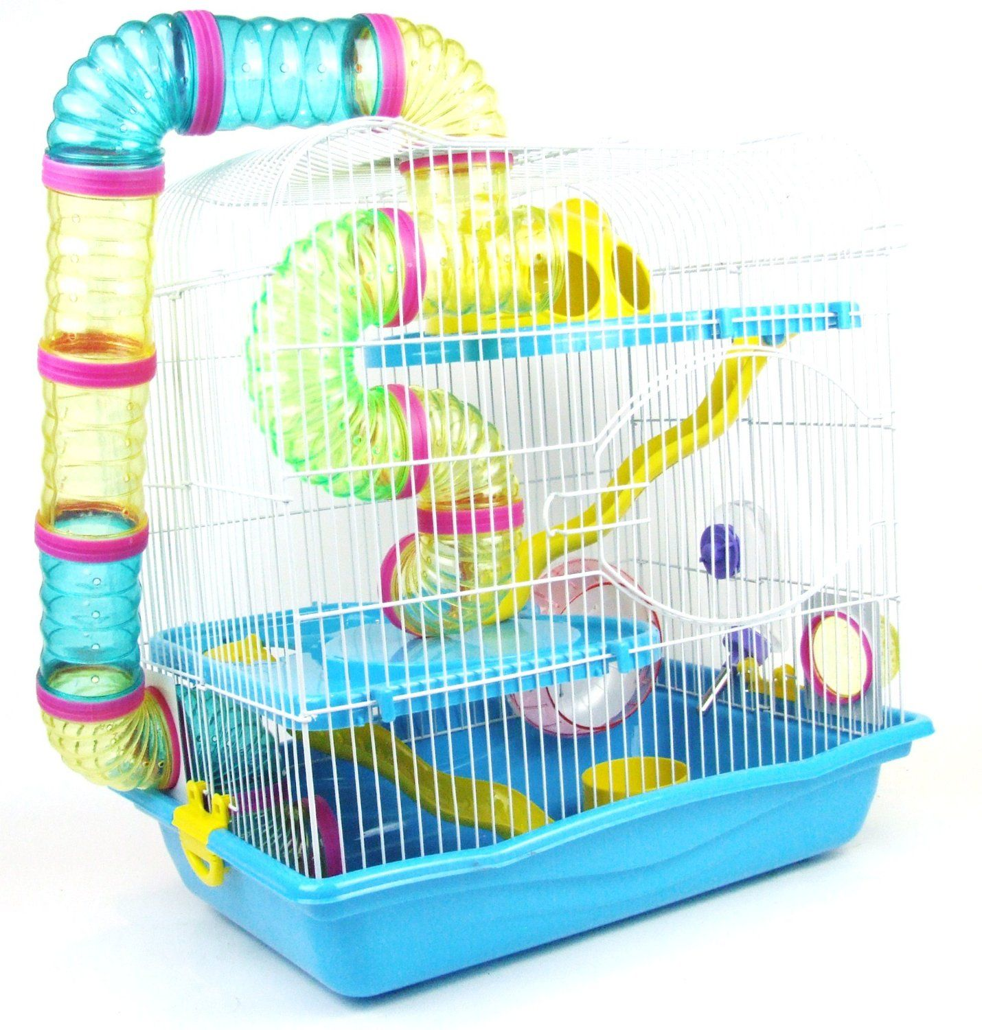 Aquarline San Marino Small Animal Cage Suitable For Syrian Hamsters Rats Gerbils And Other Small Animals Large B Hamster Accessories Hamster Syrian Hamster