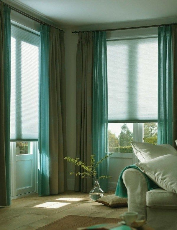 Turquoise And Gray Curtains Modern Living Room Decorating Ideas Bedroom Window Design Turquoise Curtains Living Room Green
