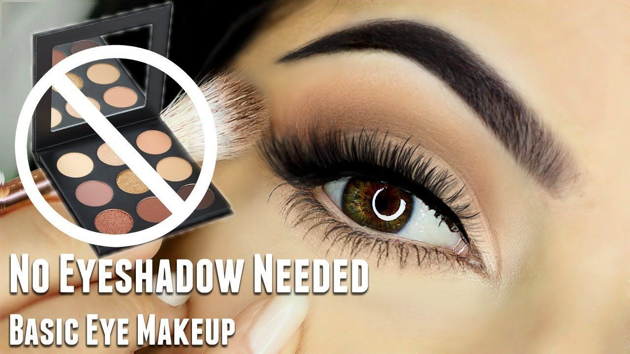 Beginners Eye Makeup Tutorial WITHOUT using Eyeshadow