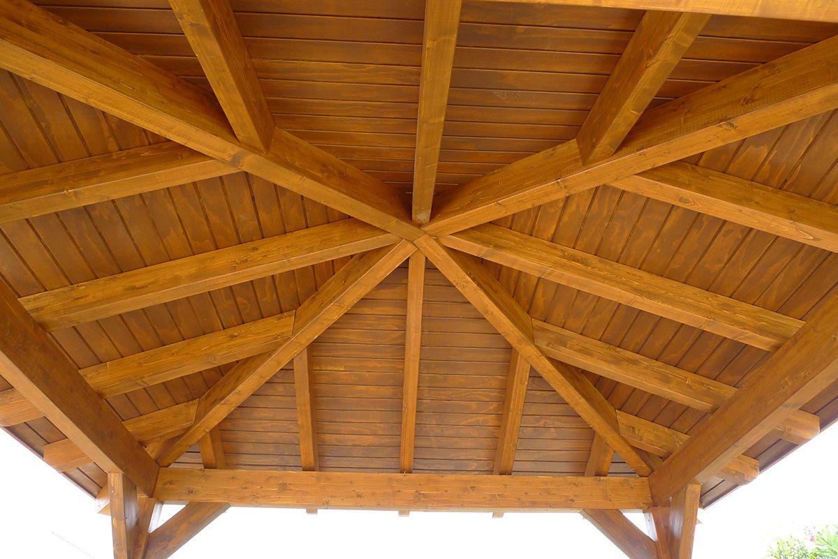 P rgolas coberti construcci n en 2019 techos de - Construccion de pergolas de madera ...