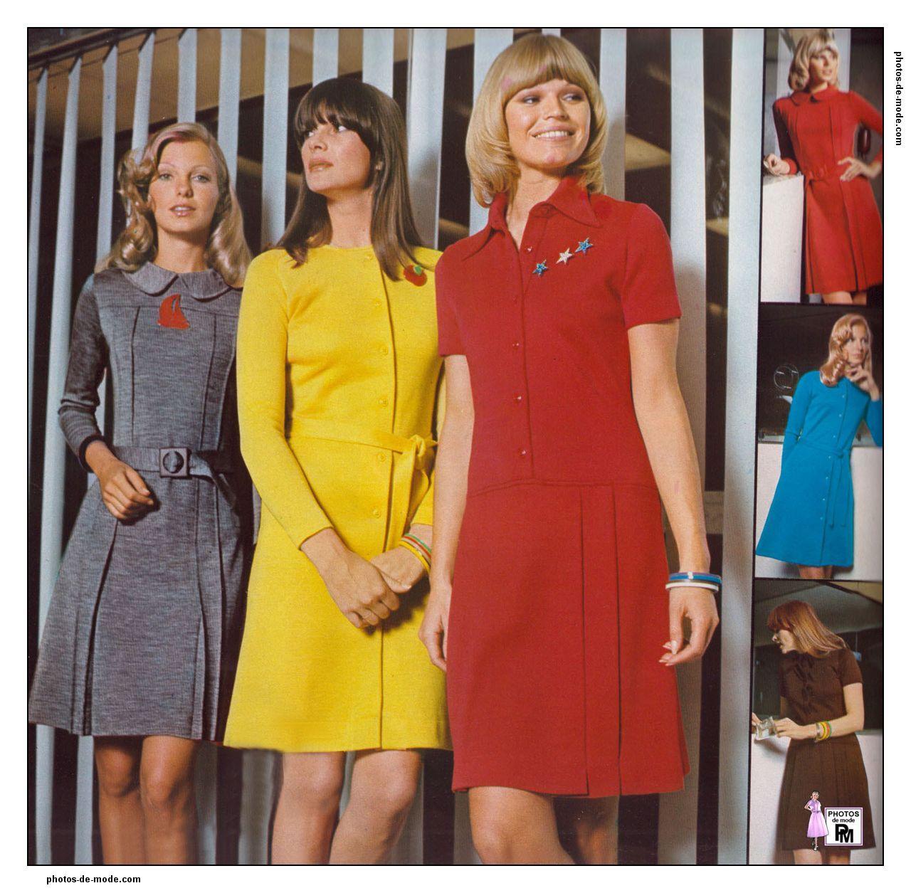 minijupe 1972 vintage dress 70 39 s pinterest mode ann e 70 ann es 70 et r tro. Black Bedroom Furniture Sets. Home Design Ideas