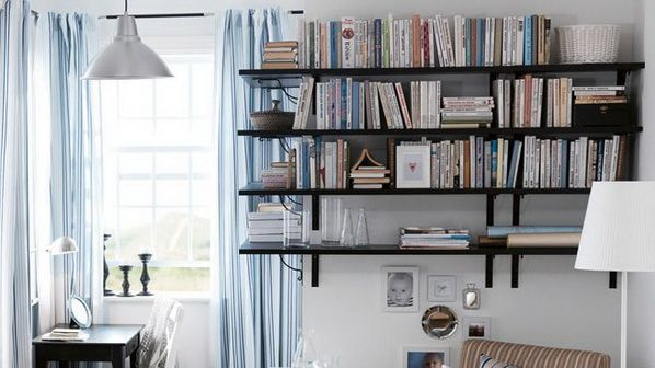 Modern Library Design Ideas Apartment