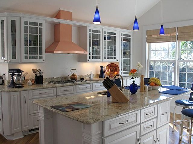 White Cabinets With Granite Countertops Crystal