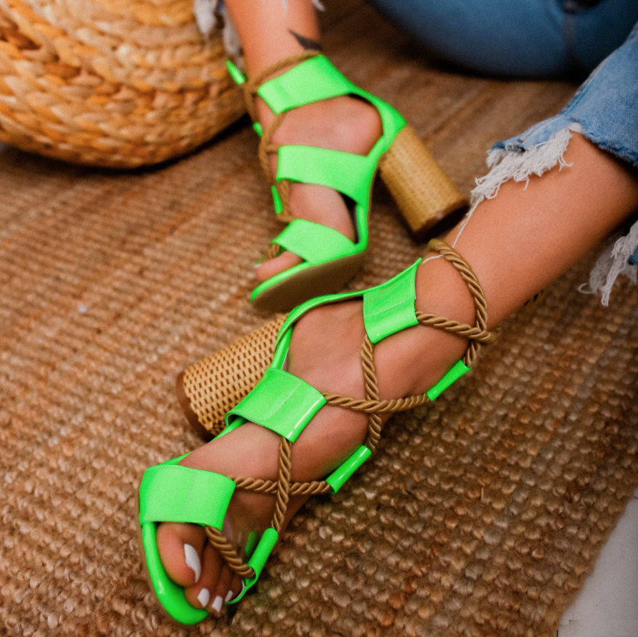 Summer Women Flat Scandal Peep Hemp Rope Toe Weaving Sandals Fish Mouth Shoe