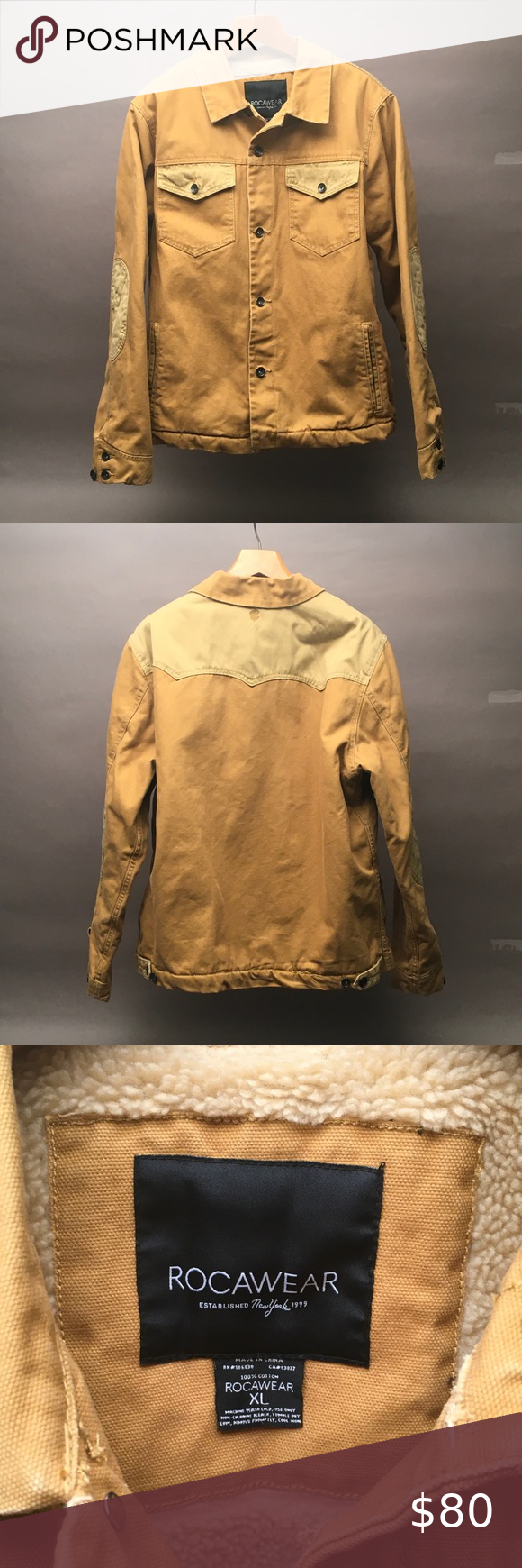 Better Than Carhartt Rocawear Nyc Coat Jacket Men Bomber Jacket Vintage Men S Coats And Jackets Vintage Denim Jacket [ 1740 x 580 Pixel ]