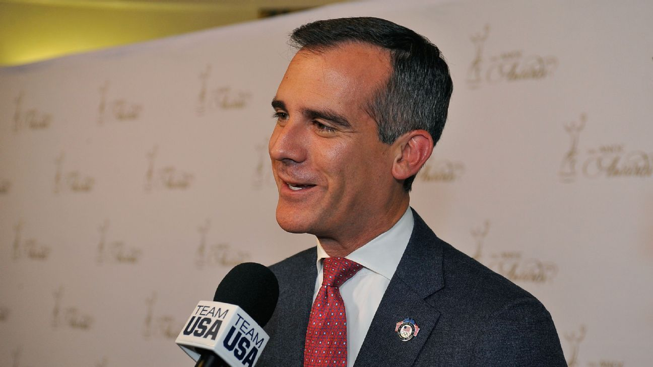 L A Mayor On Chargers We Wish Them Luck Los Angeles Chargers Los Angeles Angel
