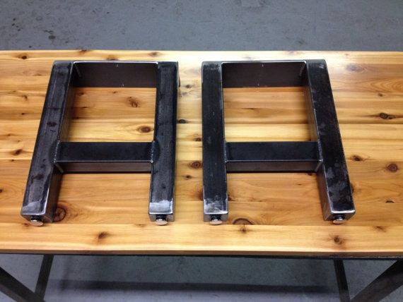 Steel H Bench Legs Listing Is For 2 Legs Up For Sale Are Handmade