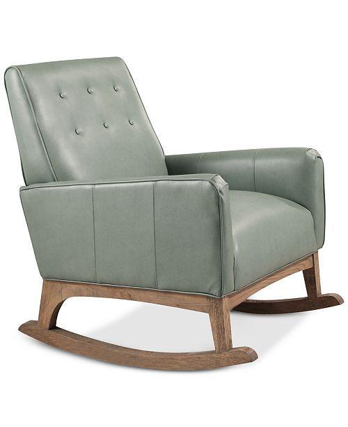 Pleasing Velie Rocker Quick Ship Green Master Bed Bath In Short Links Chair Design For Home Short Linksinfo