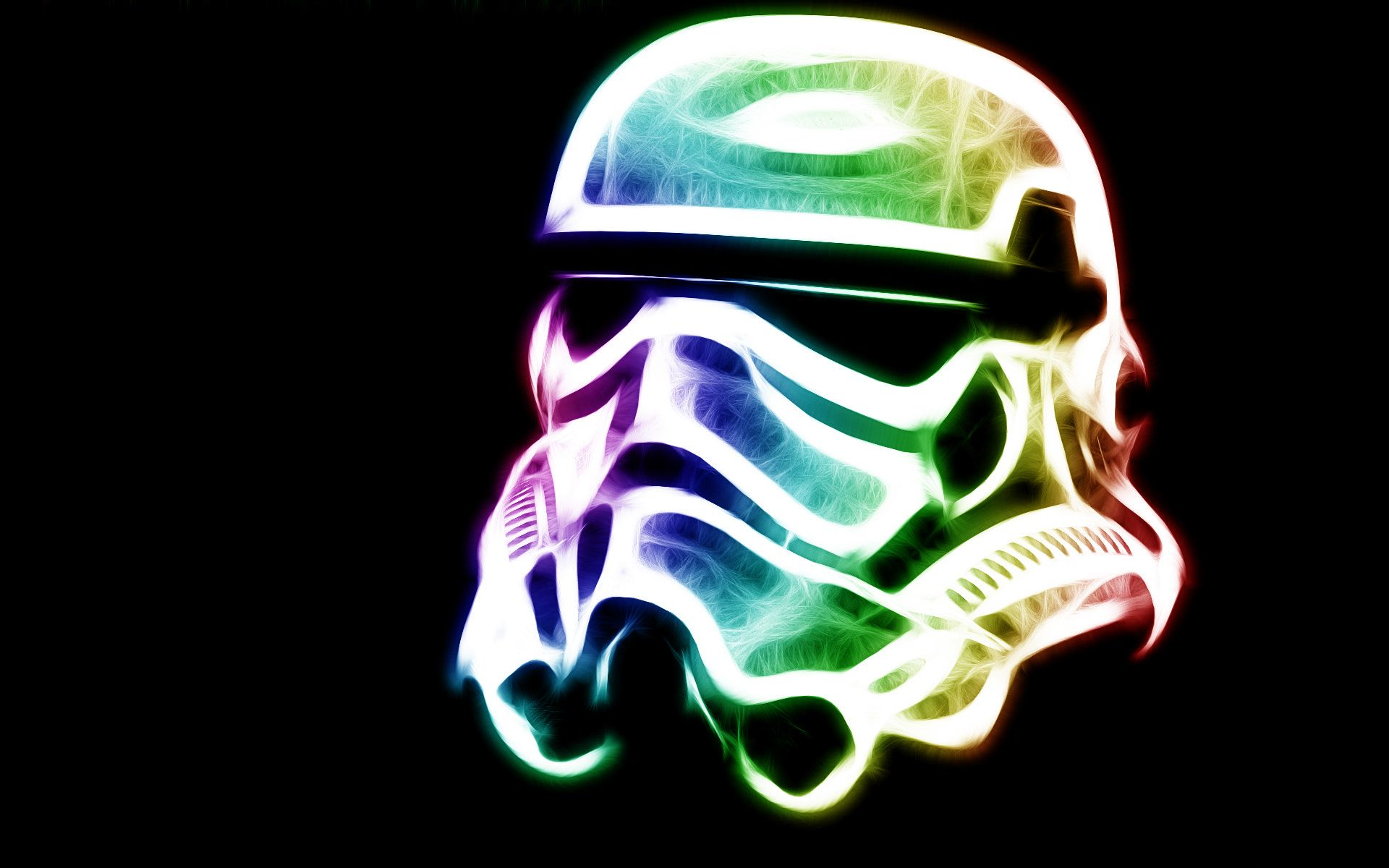 Colorful Stormtrooper Helmet Wallpaper Star Wars