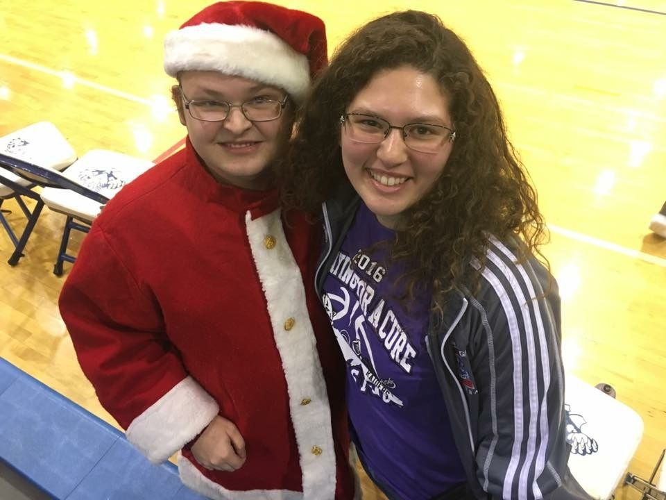 Me and Shelby at the Christmas basketball game | The Best of ...