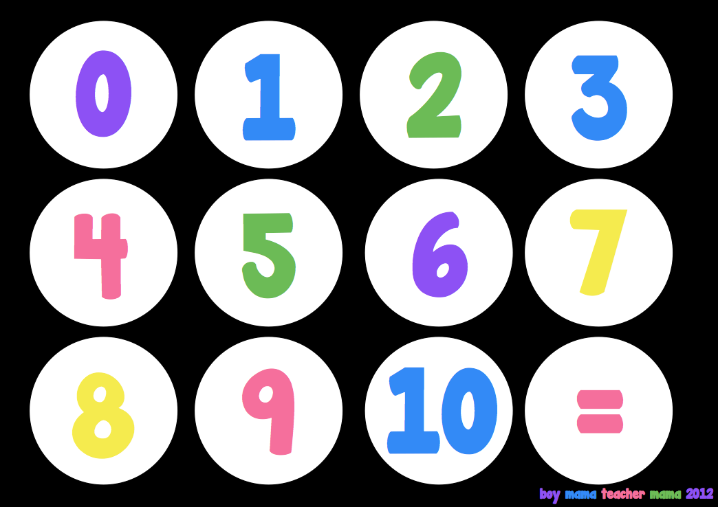 Boy Mama Teacher Mama Numbers 1 10 Printable Numbers How To Memorize Things Learning Numbers