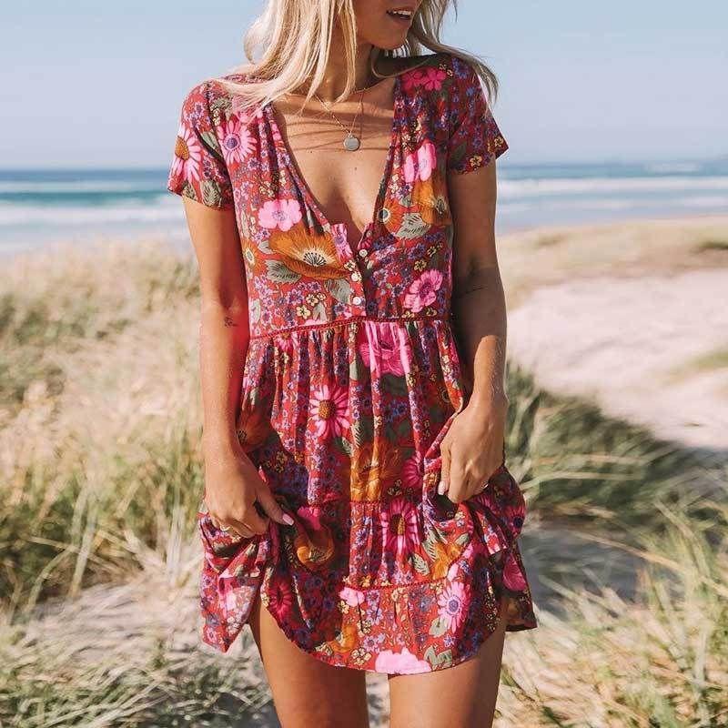 Rasberry Craving Dress