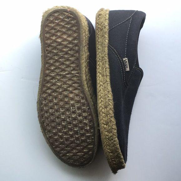 Vans Slip Ons - Bamboo Charcoal - RARE | Vans slip on, Rare vans, Vans