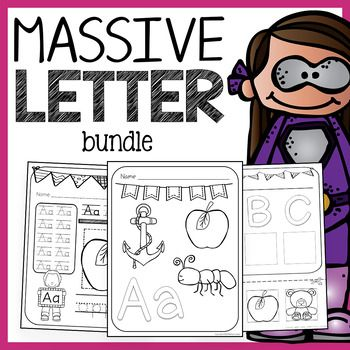 Alphabet Bundle - Letter Recognition, Phonics, and Handwriting Bundle #preschoolclassroomsetup