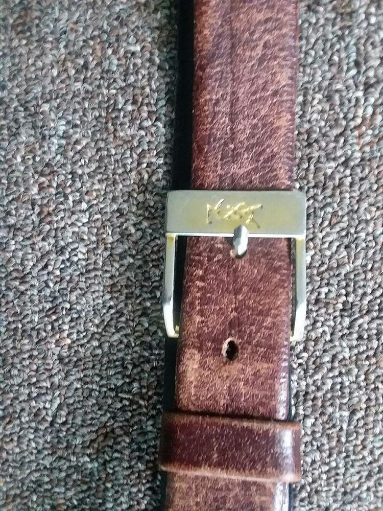 bec6084fc5ad2 Vintage Yves Saint Laurent Steer hide Women's Belt 38-95 #fashion ...
