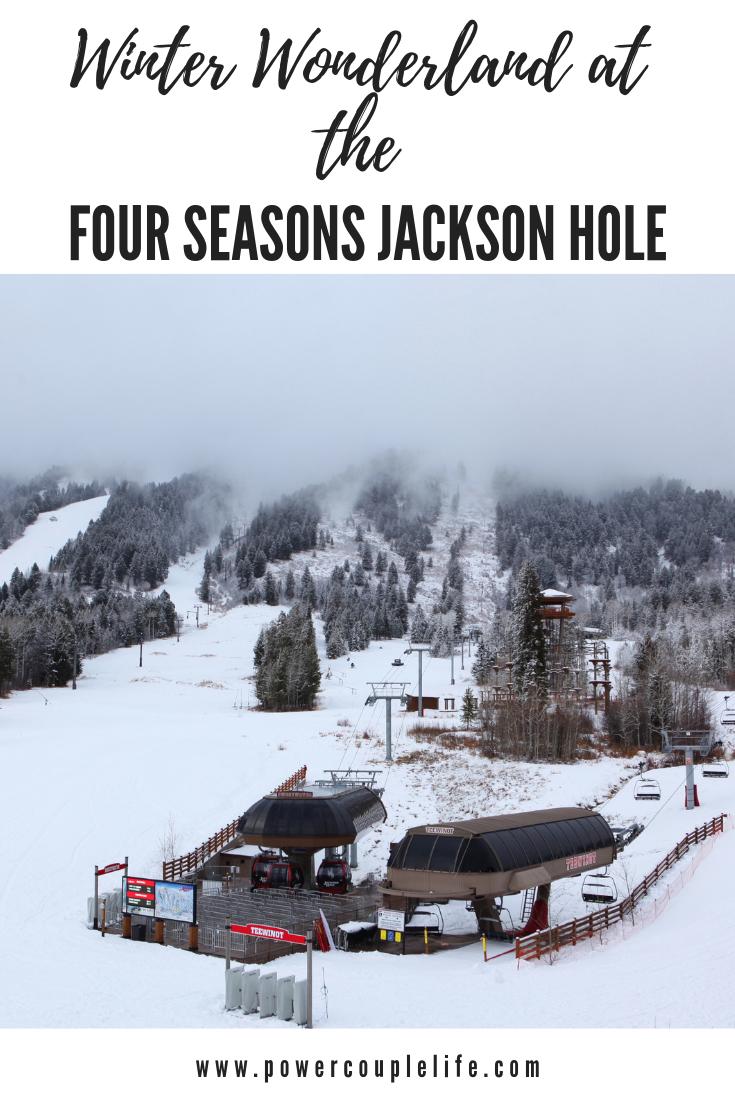 Winter Wonderland at the Four Seasons Jackson Hole