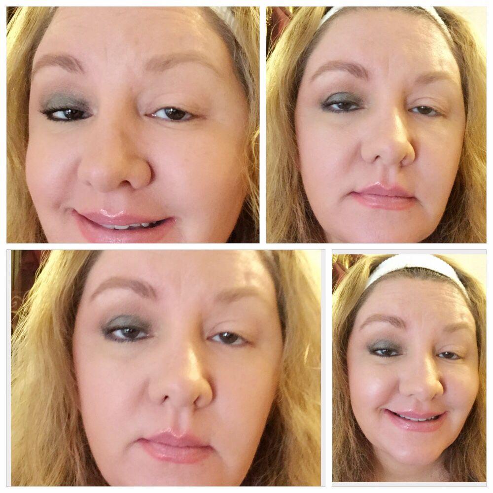 Make Up Vs No Ptosis With