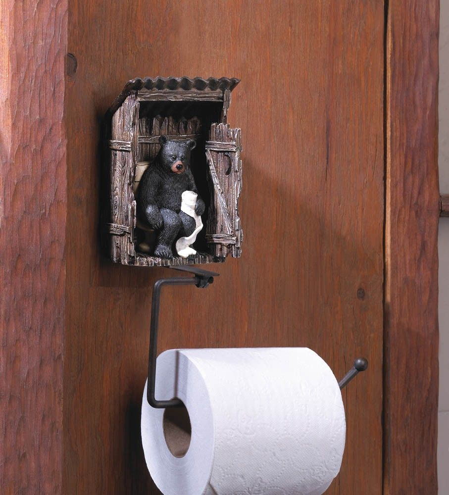 add a bit of fun to your bathroom with this whimsical toilet paper
