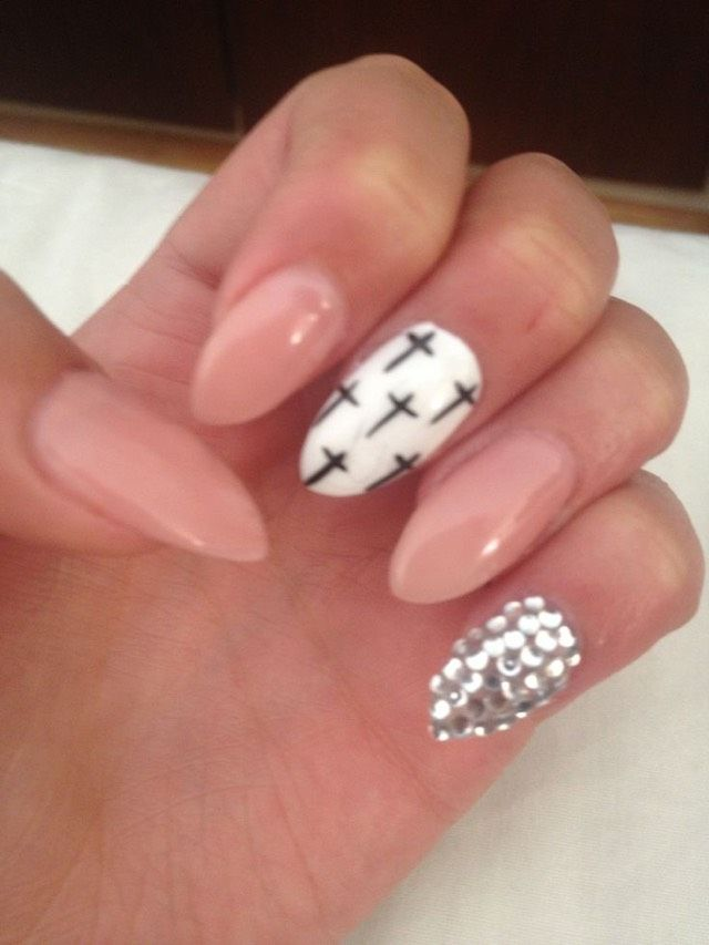 Cute Nail Ideas Shapesdesigns Nails Art Pinterest Shape