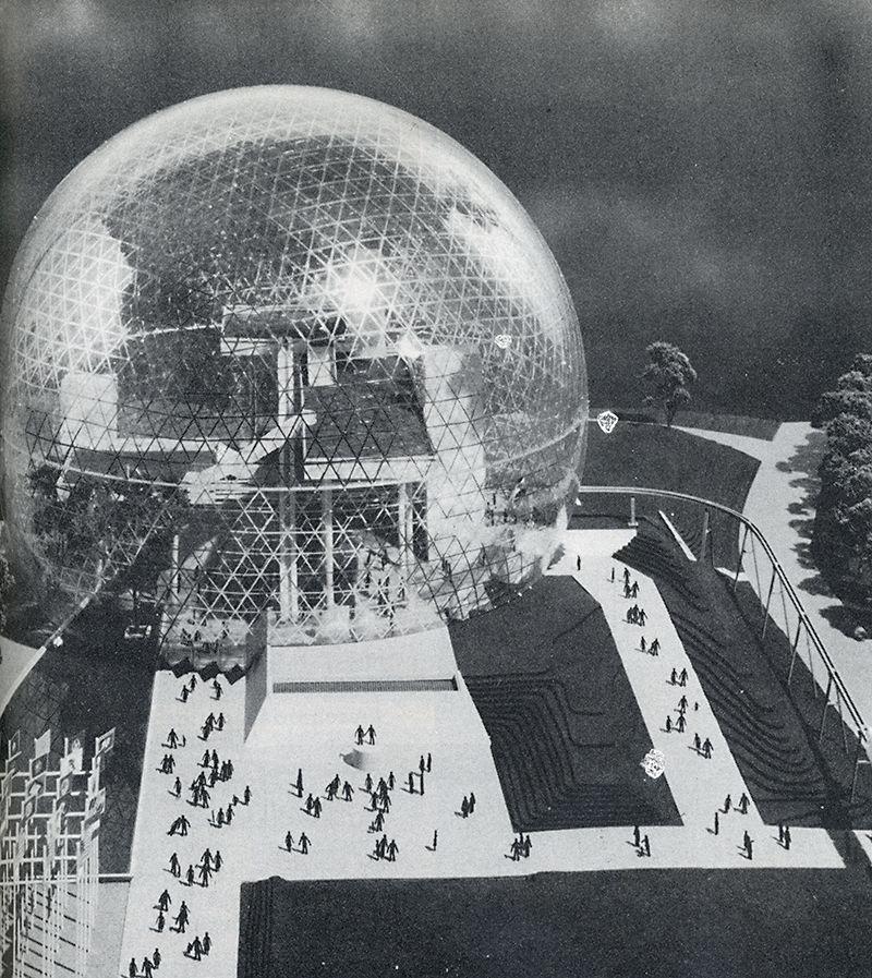 Dome House Futuristic: R.Buckminster Fuller. Calli. 24 1966: 29