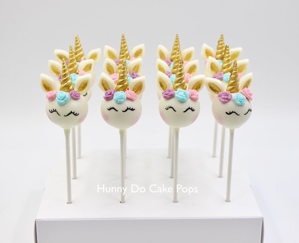 Unicorn Themed Cake Pops In 2019 Chloes Birthday Unicorn Cake