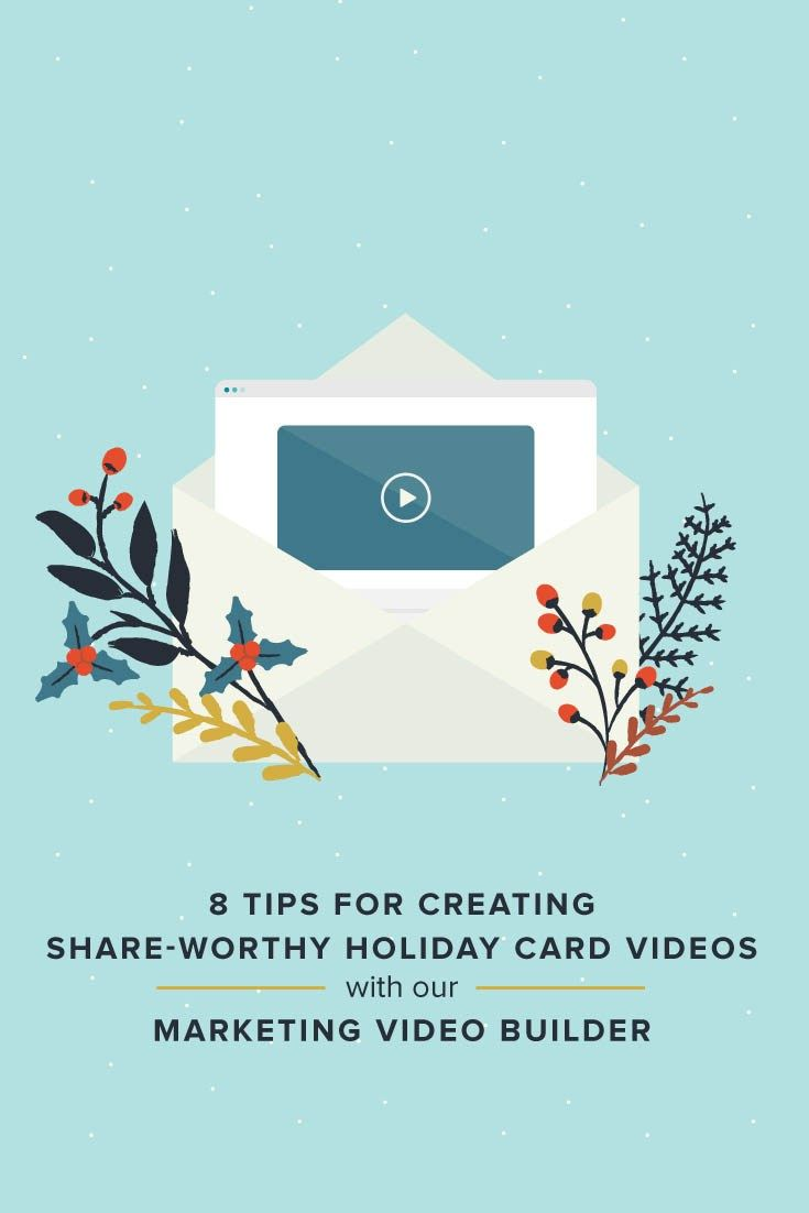 8 Tips for Creating Share-Worthy Holiday Card Videos for Your Photography Clients