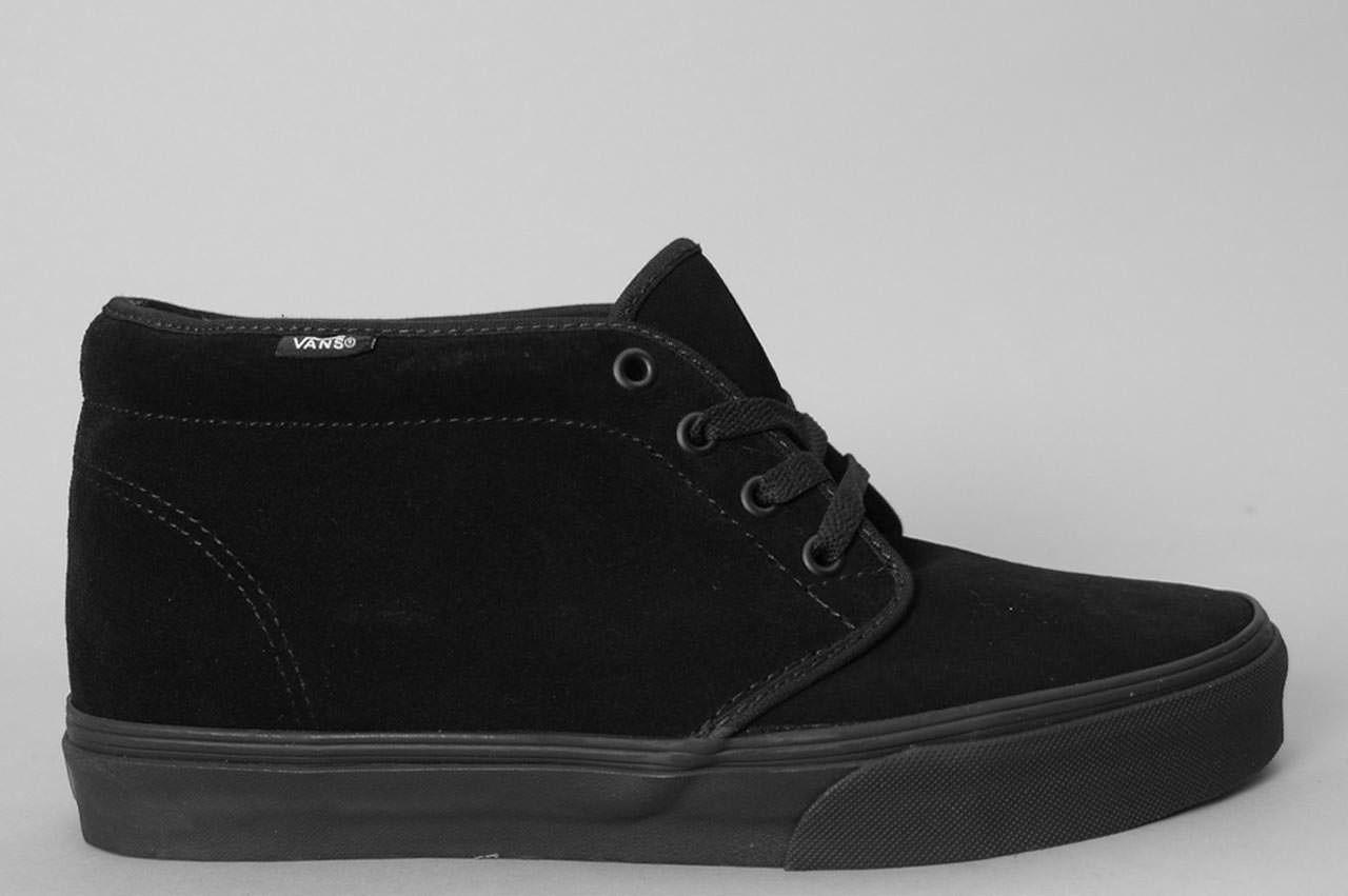 Vans Chukka Boot Black / Black | Fashion | Pinterest | Vans chukka ...