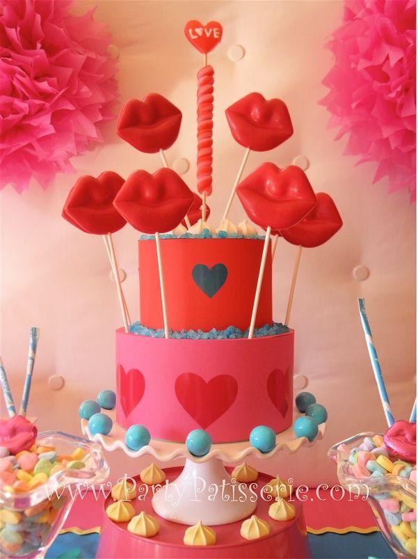 Fun valentine cake